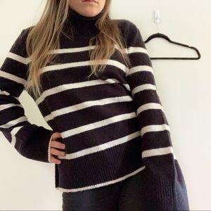 Romeo and Juliet • oversized turtleneck sweater